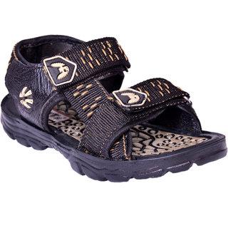 dca6cd8726b52 Buy Comfortable Casual Sandals For Kids Color Black Golden Online ...