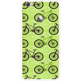 Snooky Printed Cycle Mobile Back Cover For Letv Le 1S - Multi