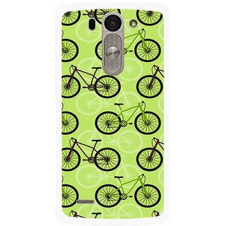 Snooky Printed Cycle Mobile Back Cover For Lg G3 Beat D722k - Multi