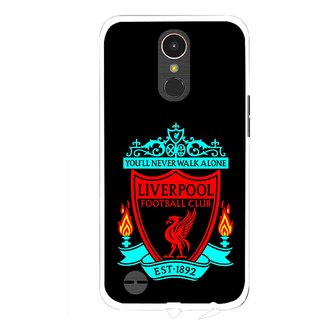 Snooky Printed Football Club Mobile Back Cover For LG K10 2017 - Multi