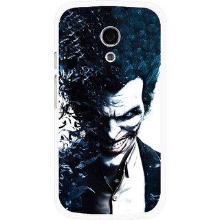 Snooky Printed Freaking Joker Mobile Back Cover For Moto G2 - Multi