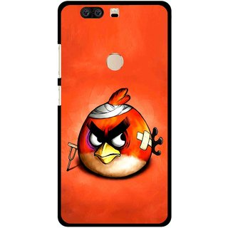 Snooky Printed Wouded Bird Mobile Back Cover For Huawei Honor 8 - Multi