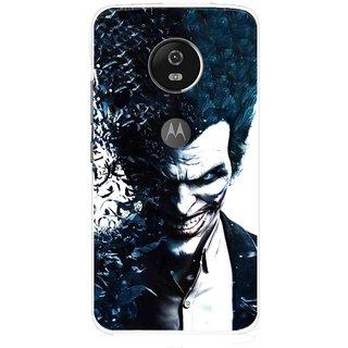 Snooky Printed Freaking Joker Mobile Back Cover For Moto G5 - Multi