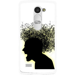 Snooky Printed Music Fond Mobile Back Cover For Lg Leon - Multi