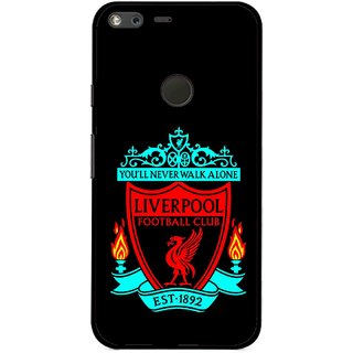 Snooky Printed Football Club Mobile Back Cover For Google Pixel XL - Multi
