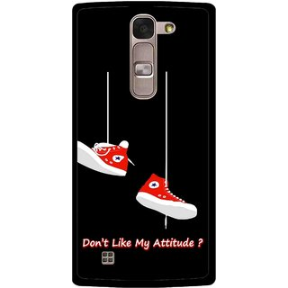 Snooky Printed Attitude Mobile Back Cover For Lg Spirit - Multi