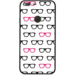 Snooky Printed Spectacles Mobile Back Cover For Google Pixel XL - Multi