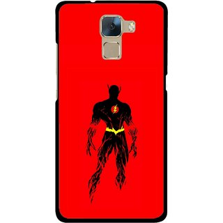 Snooky Printed Electric Man Mobile Back Cover For Huawei Honor 7 - Multi