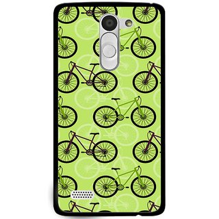 Snooky Printed Cycle Mobile Back Cover For Lg L Fino - Multi