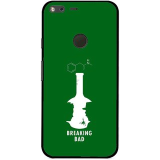 Snooky Printed Breaking Bad Mobile Back Cover For Google Pixel XL - Multi