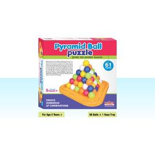 Playmate Pyramid Ball 61 pcs - Strike the perfect balance. Age 2 to 5 years