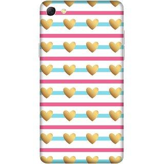 Print Opera Hard Plastic Designer Printed Phone Cover for oppo f3plus-oppo r9splus Beautiful hearts