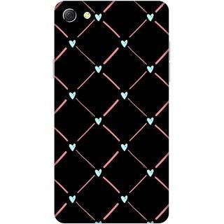 Print Opera Hard Plastic Designer Printed Phone Cover for oppo f3plus-oppo r9splus Hearts