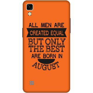 Print Opera Hard Plastic Designer Printed Phone Cover for lg xpower Best man born in august