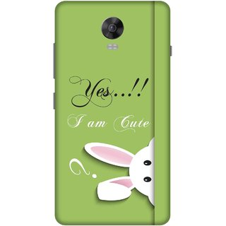 Print Opera Hard Plastic Designer Printed Phone Cover for lenovo vibep1-vibep1turbo Yes, i am cute