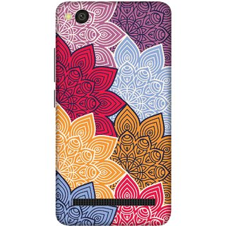 Print Opera Hard Plastic Designer Printed Phone Cover for xiaomimi4a yellow Flowers