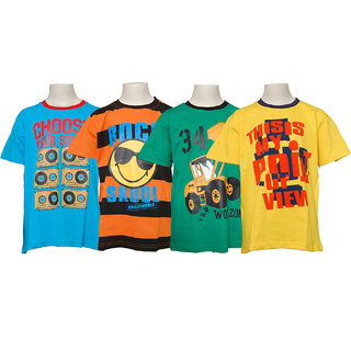 Pack of 4 Boys T-Shirt (008)