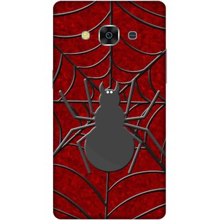 Print Opera Hard Plastic Designer Printed Phone Cover for samsunggalaxy j3pro Spider with web