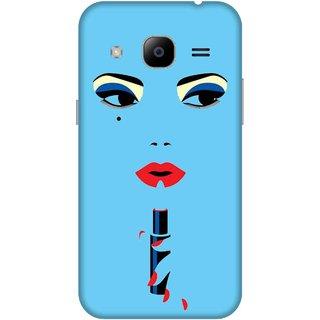 Print Opera Hard Plastic Designer Printed Phone Cover for samsunggalaxy j2 2016 Makeup girl