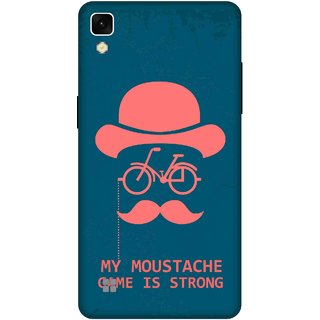 Print Opera Hard Plastic Designer Printed Phone Cover for lg xpower My moustache game is strong