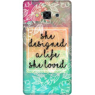 Print Opera Hard Plastic Designer Printed Phone Cover for samsunggalaxy j3pro She designed a life she loved