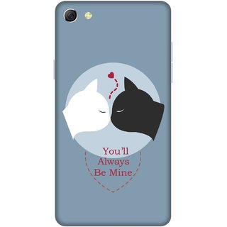 Print Opera Hard Plastic Designer Printed Phone Cover for oppo f3plus-oppo r9splus You will always be mine