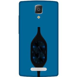 Print Opera Hard Plastic Designer Printed Phone Cover for lenovo a2010 Pendulum blue clock