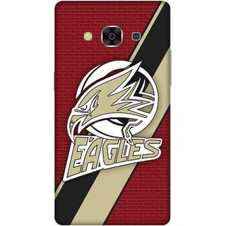 Print Opera Hard Plastic Designer Printed Phone Cover for samsunggalaxy j3pro Eagles with red background