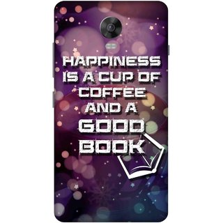 Print Opera Hard Plastic Designer Printed Phone Cover for lenovo vibep1-vibep1turbo Happiness is a cup of coffee