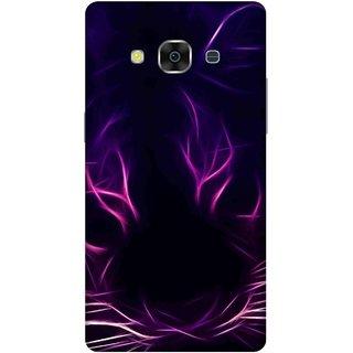 Print Opera Hard Plastic Designer Printed Phone Cover for samsunggalaxy j3pro Visual effect pink tiger