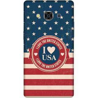 Print Opera Hard Plastic Designer Printed Phone Cover for samsunggalaxy j3pro I love USA