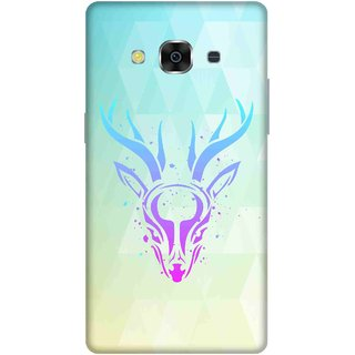 Print Opera Hard Plastic Designer Printed Phone Cover for samsunggalaxy j3pro Artistic deer colourful
