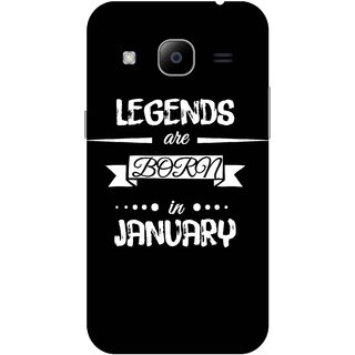 Print Opera Hard Plastic Designer Printed Phone Cover for samsunggalaxy j2 2016 Legends are born in january