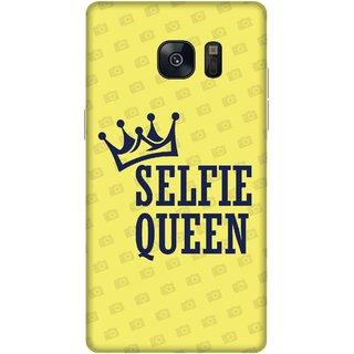 Print Opera Hard Plastic Designer Printed Phone Cover for samsung galaxynote7-note6 Selfie queen
