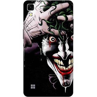 Print Opera Hard Plastic Designer Printed Phone Cover for lg xpower Joker half face