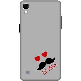 Print Opera Hard Plastic Designer Printed Phone Cover for lg xpower Be mine