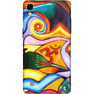 Print Opera Hard Plastic Designer Printed Phone Cover for lg xpower Om with colorful texture