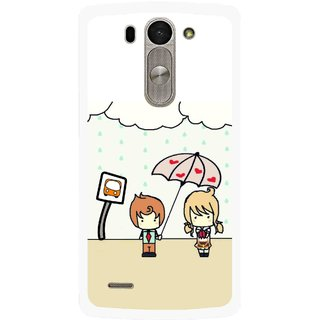 Snooky Printed Feelings in Love Mobile Back Cover For Lg G3 Beat D722k - Multi