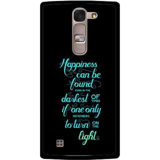 Snooky Printed Everywhere Happiness Mobile Back Cover For Lg Magna - Multi
