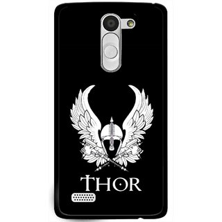 Snooky Printed The Thor Mobile Back Cover For Lg L Fino - Multi