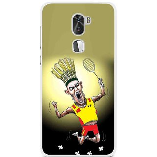 Snooky Printed Adivasi Sports Mobile Back Cover For Coolpad Cool 1 - Multi