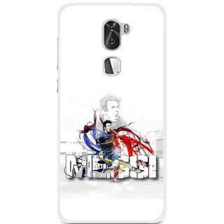Snooky Printed Messi Mobile Back Cover For Coolpad Cool 1 - Multi