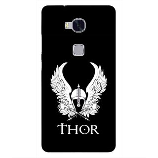 Snooky Printed The Thor Mobile Back Cover For Huawei Honor 5X - Multi