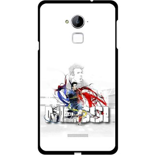 Snooky Printed Messi Mobile Back Cover For Coolpad Note 3 - Multi