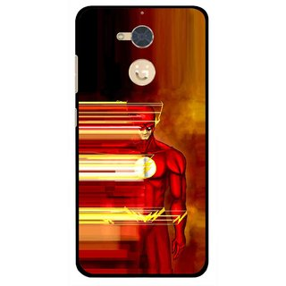 Snooky Printed Electric Man Mobile Back Cover For Gionee S6 Pro - Multi