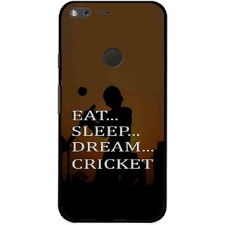Snooky Printed All Is Cricket Mobile Back Cover For Google Pixel XL - Multi