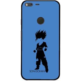 Snooky Printed Son Gohan Mobile Back Cover For Google Pixel XL - Multi