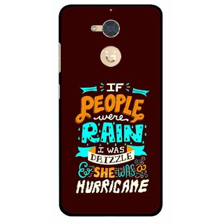 Snooky Printed Monsoon Mobile Back Cover For Gionee S6 Pro - Multi