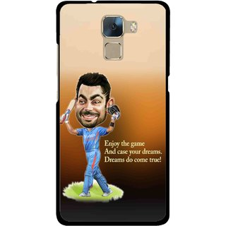 Snooky Printed True Dream Mobile Back Cover For Huawei Honor 7 - Multi