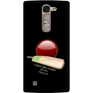 Snooky Printed Cricket Lover Mobile Back Cover For Lg Magna - Multi